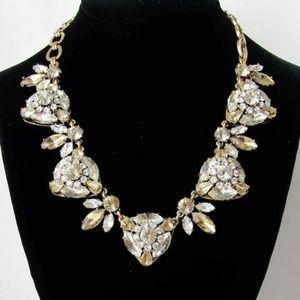 JCREW Vintage Rhinestone Embellished Necklace